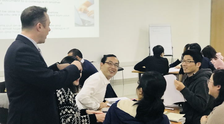 corporate training course shenzhen